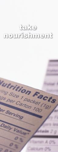 栄養価の高い食材をチョイスし、自然のままの栄養分補給を